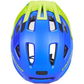 Cratoni Maxster Pro Helmet Kids blau/lime matt